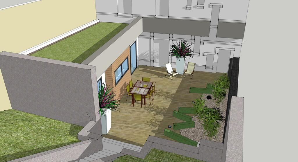 Extension Maison De Ville extension d'une maison de ville à epernay - architecte lenoir